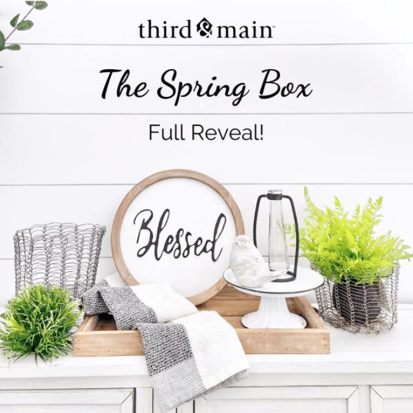Third & Main Spring 2020 Box FULL Spoilers