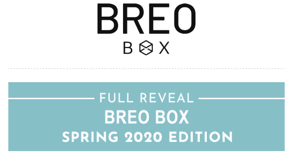 Breo Box Spring 2020 FULL Spoilers