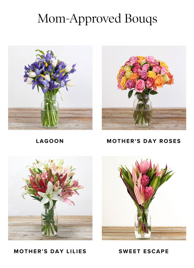 The Bouqs Mothers Day Sale – Double Your Bouq