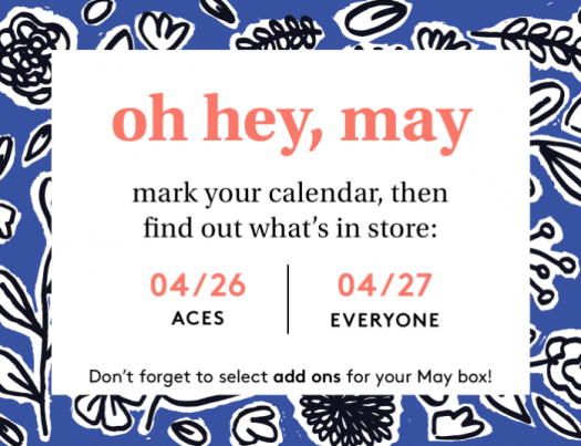 Birchbox May 2020 Sample Choice & Curated Box Reveals
