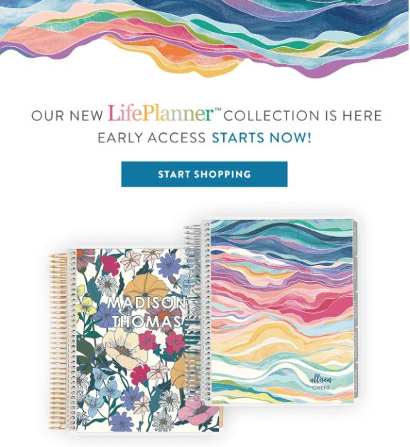 Erin Condren 2020 / 2021 Life Planners – On Sale Now!