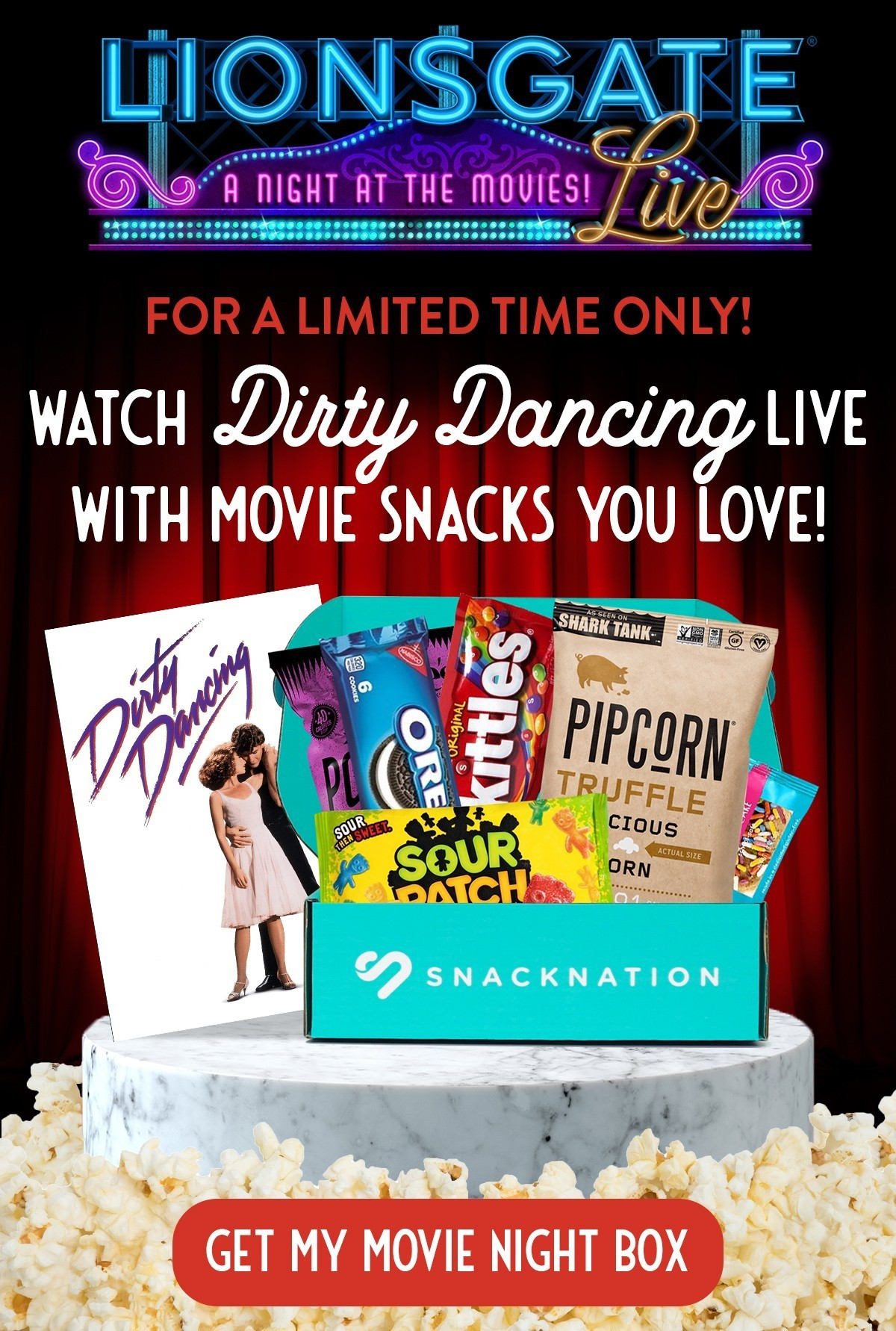 Snack Nation Movie Night Box