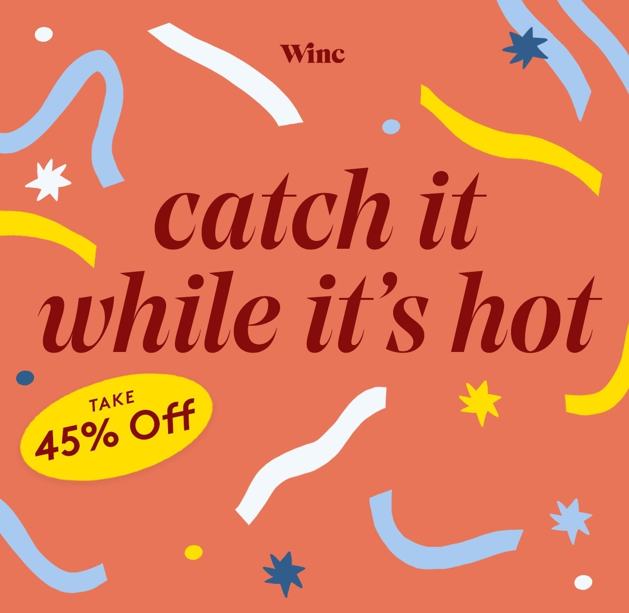 Winc Flash Sale – Save 45% Off First Month!