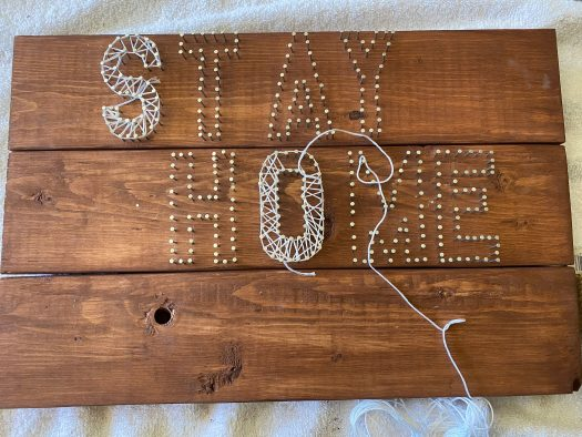 Adults & Crafts Review – String Art Wood Sign Kit