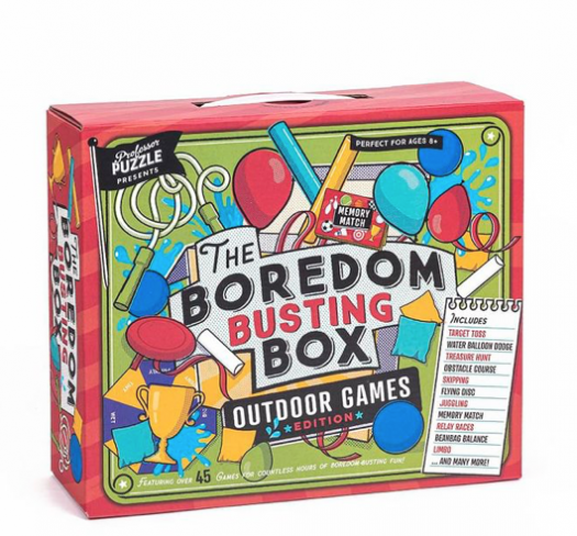 Professor Puzzle Outdoor Boredom Busting Box – On Sale Now