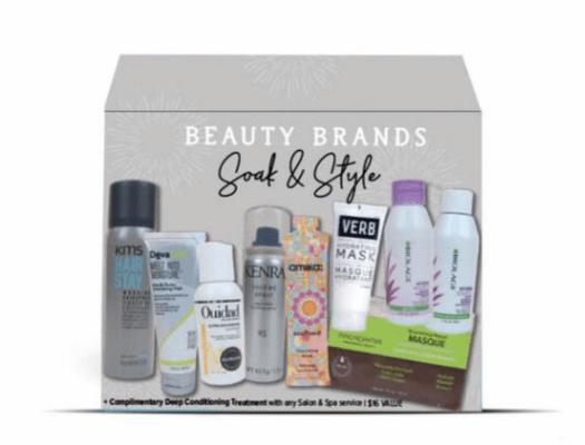 Beauty Brands Beauty Brands Soak & Style 9-pc Discovery Box