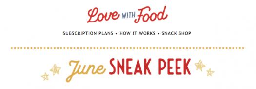 Love With Food June 2020 Spoilers