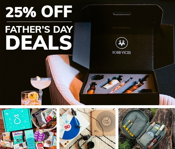 CrateJoy Father's Day Flash Sale! – Save 25% off Your First Month of Select Boxes