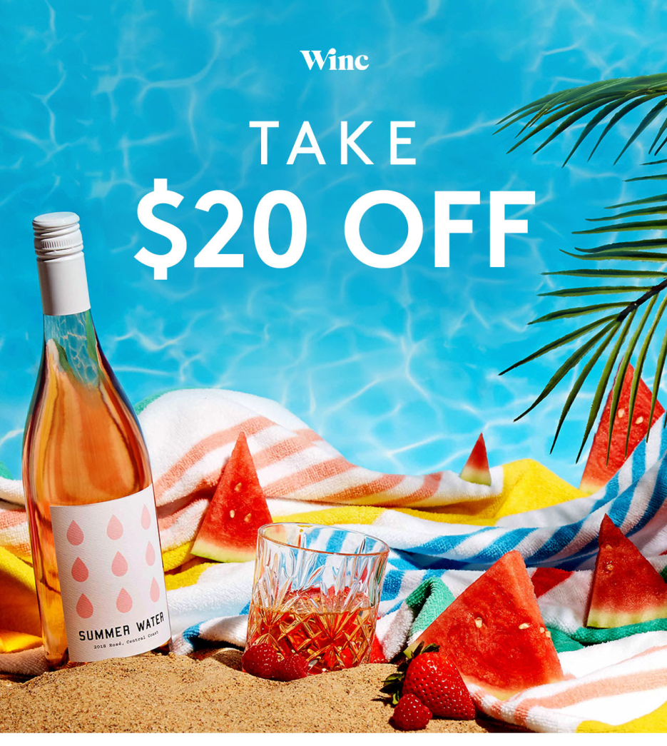 Winc 4th of July Sale – Save $20 Off First Month!