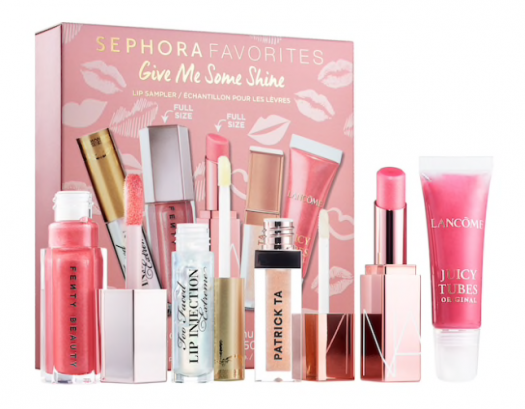 SEPHORA FAVORITES Give Me Some Shine Balm and Gloss Lip Kit – On Sale Now + Coupon Codes
