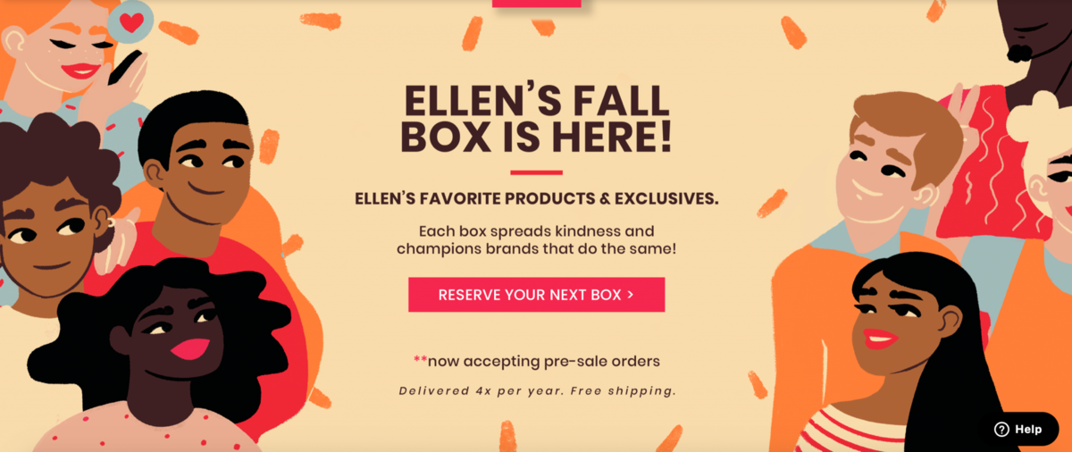 Be Kind by Ellen Fall 2020 Box – On Sale Now
