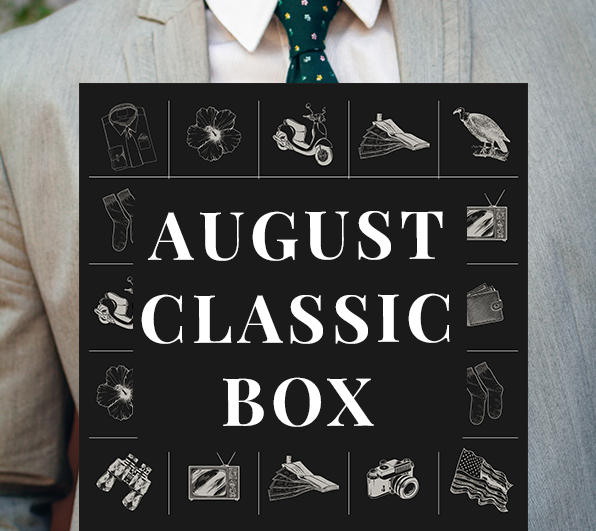 Gentleman's Box August 2020 Spoiler!