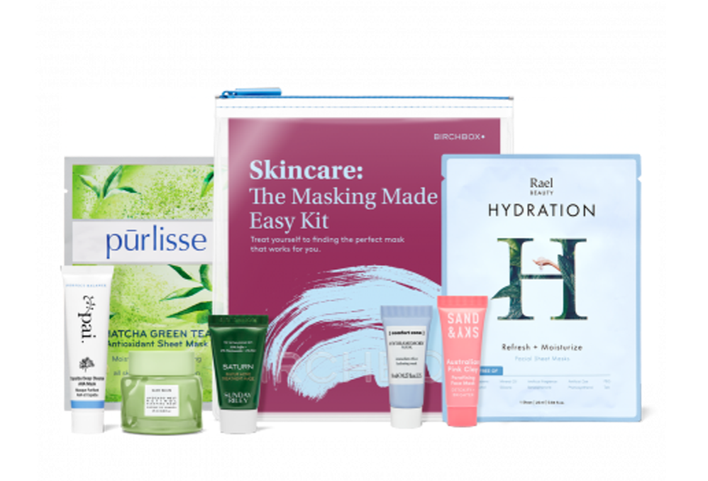 Birchbox The Masking Made Easy Kit – On Sale Now