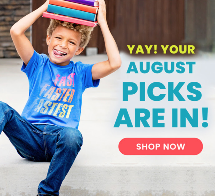 August 2020 FabKids Selection Time + New Subscriber Offer