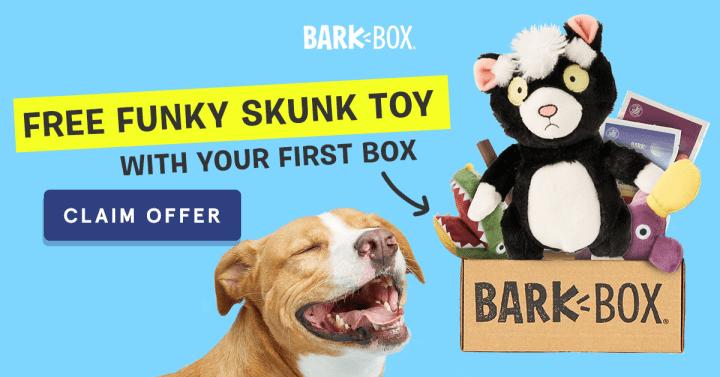 BarkBox Coupon Code – Free Bonus Toy!
