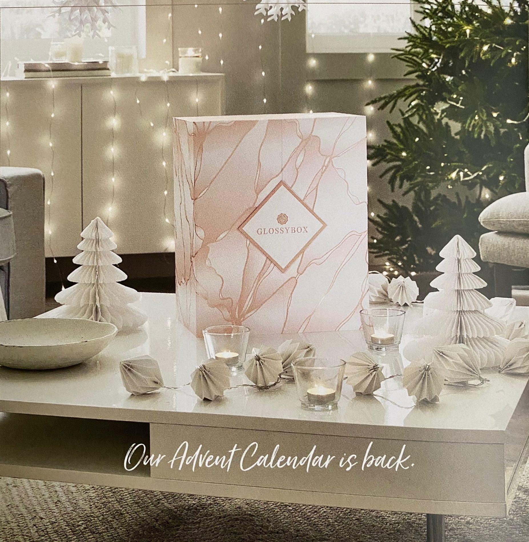 2021 GLOSSYBOX Advent Calendar – Coming Soon + FULL Spoilers