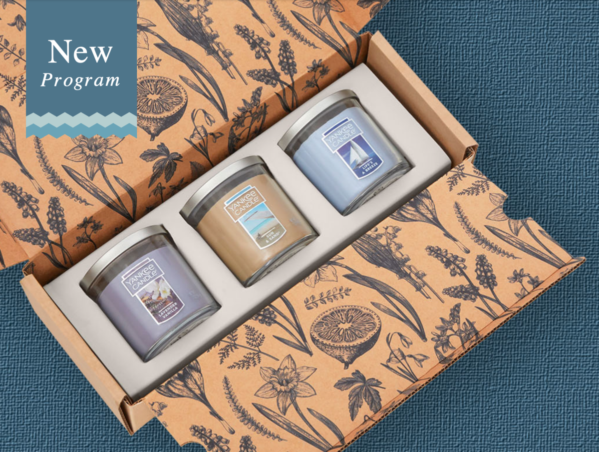 New Box Alert: Yankee Candle Fragrance Flight Subscription