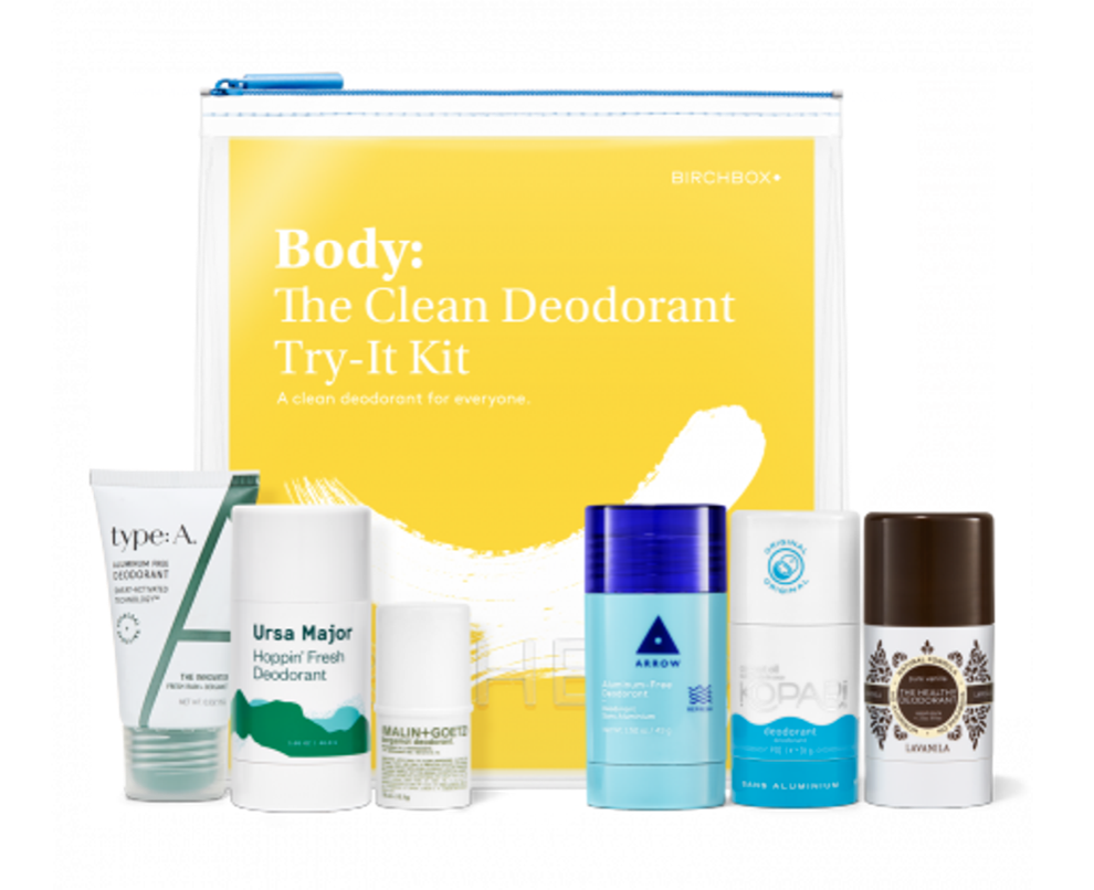 Birchbox The Clean Deodorant Try-It Kit – On Sale Now