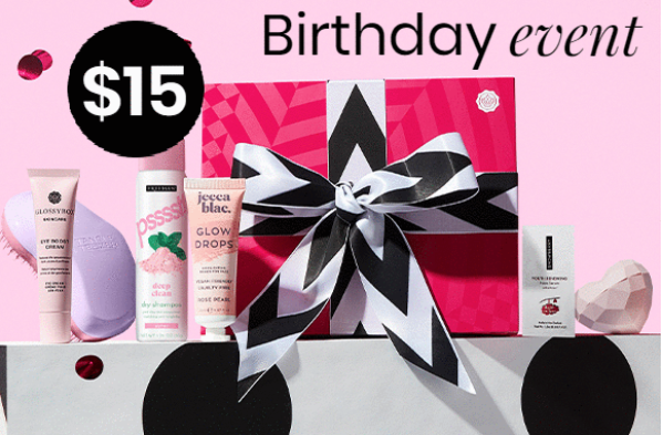 GLOSSYBOX Coupon Code – Get Your First Box for $15