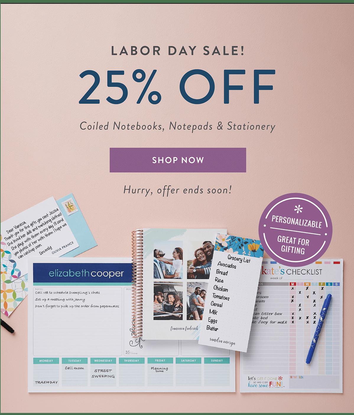 Erin Condren Memorial Day Sale – Save 25% Off EVERYTHING!