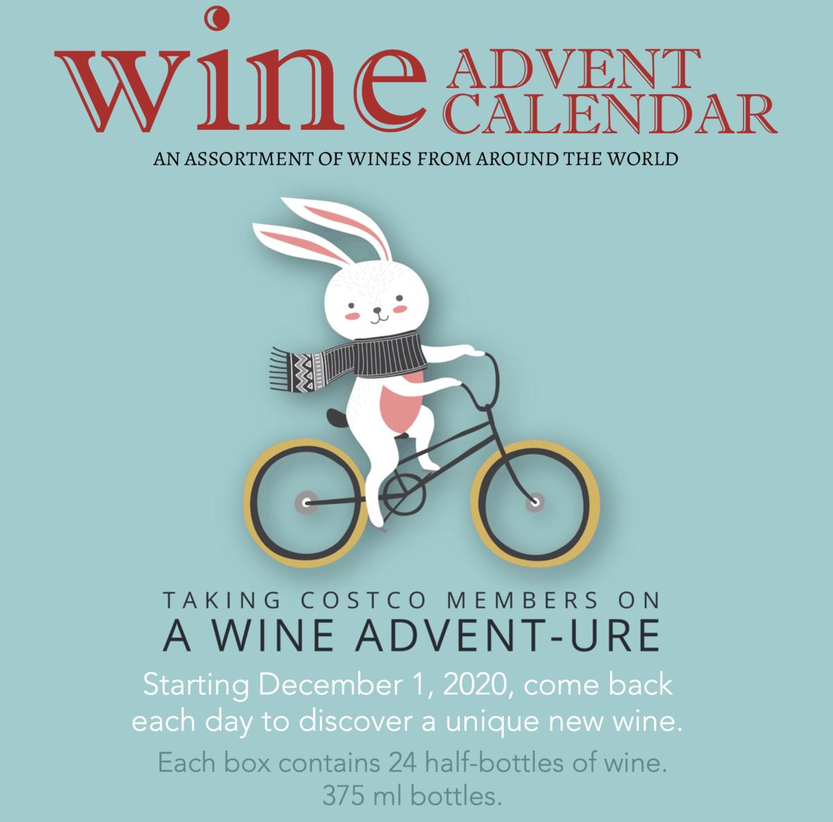 Costco 2020 Wine Advent Calendar – On Sale Now!