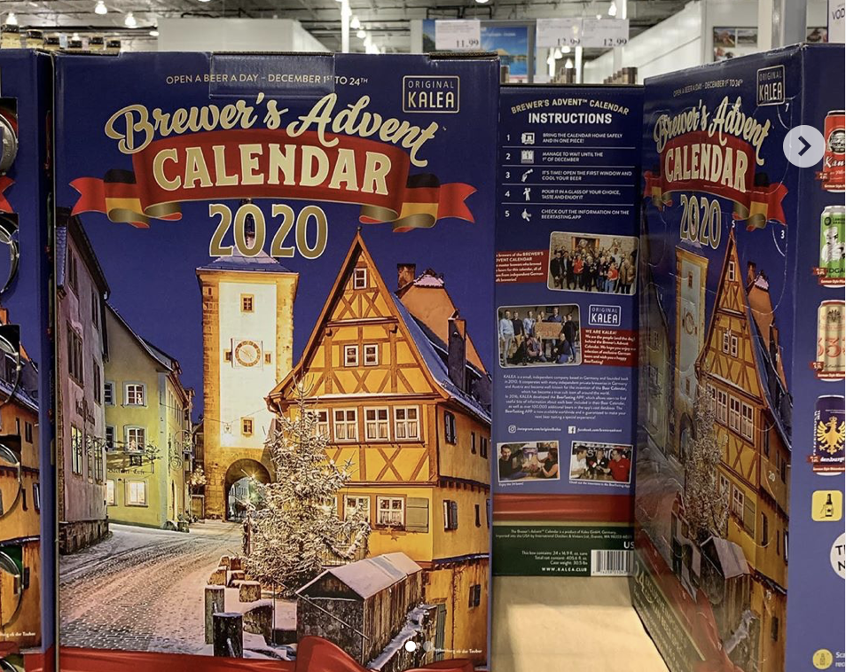 Costco 2020 Brewer's Advent Calendar – On Sale Now
