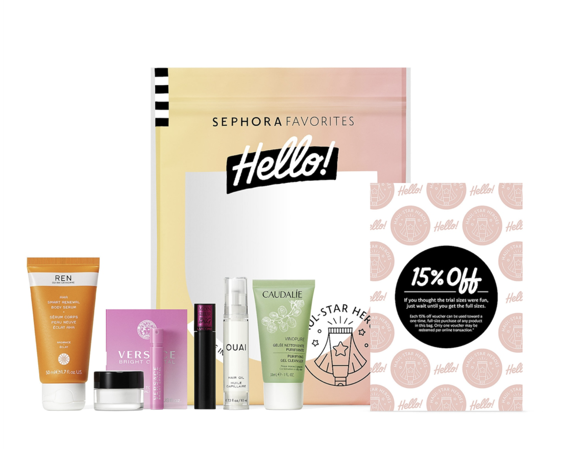 SEPHORA Favorites – Sephora Favorites Hello! Haul-Star Heros (Coming Soon)