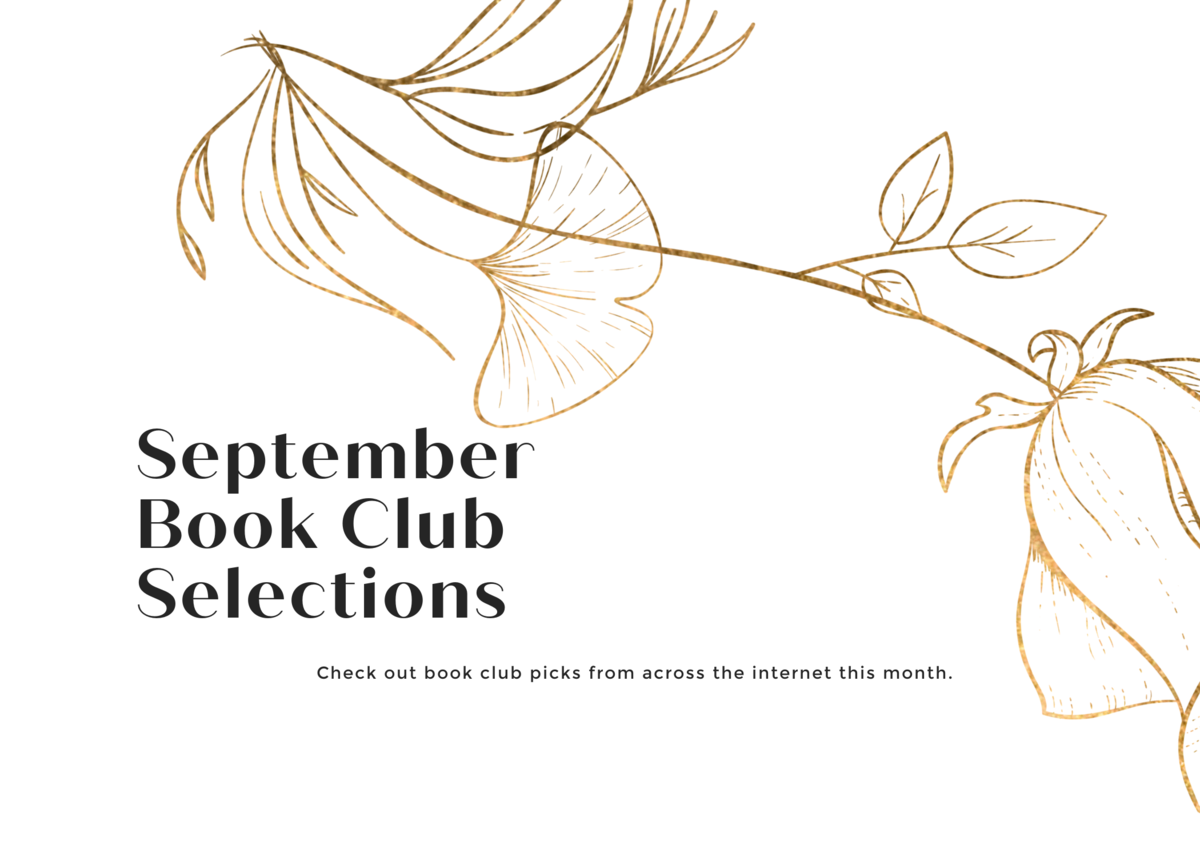 September 2020 Book Club Selections
