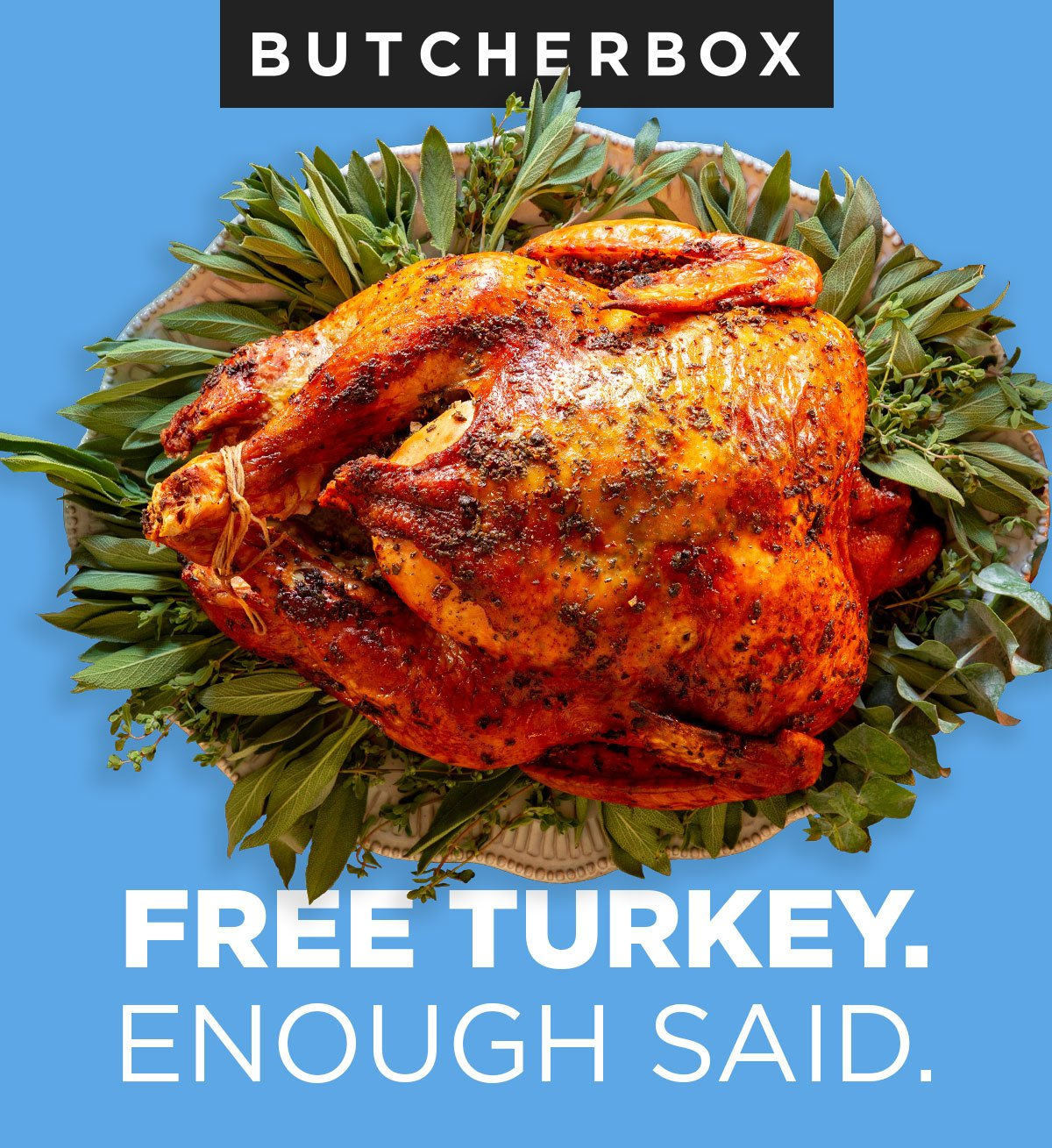 Butcher Box – FREE Thanksgiving Turkey!