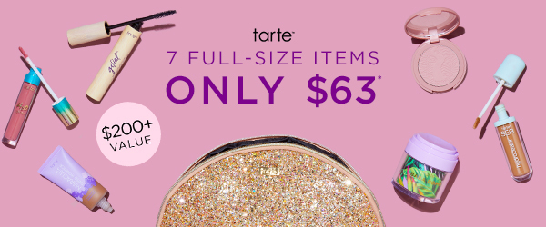 EXTENDED! tarte Create Your Own 7-Piece Custom Kit for $63 – On Sale Now!