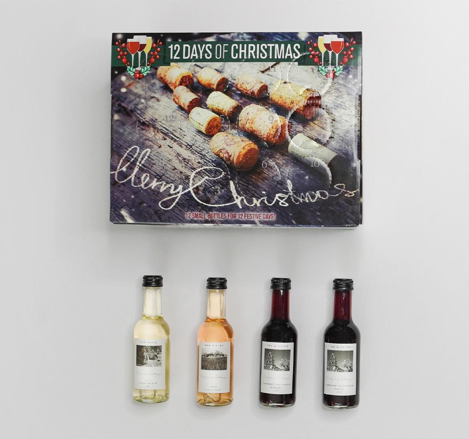 Sip and Savor Christmas Tree Wine Advent Calendar – On Sale Now!