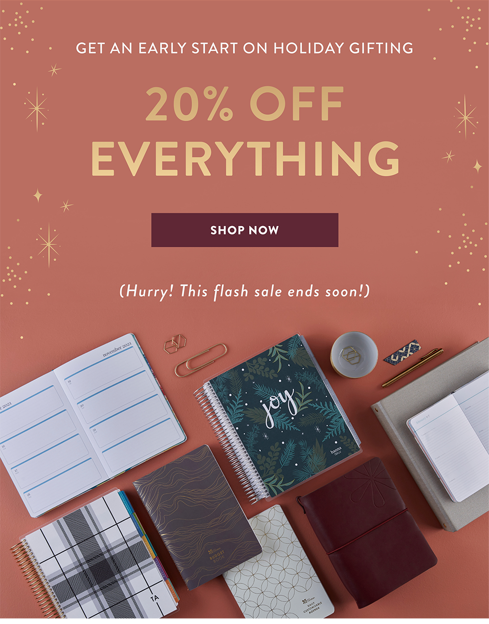 Erin Condren Early Holiday Sale – Save 20%!