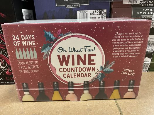 Kroger Oh What Fun! Holiday Wine Countdown (Advent) Calendar – In Stores NOW!!!
