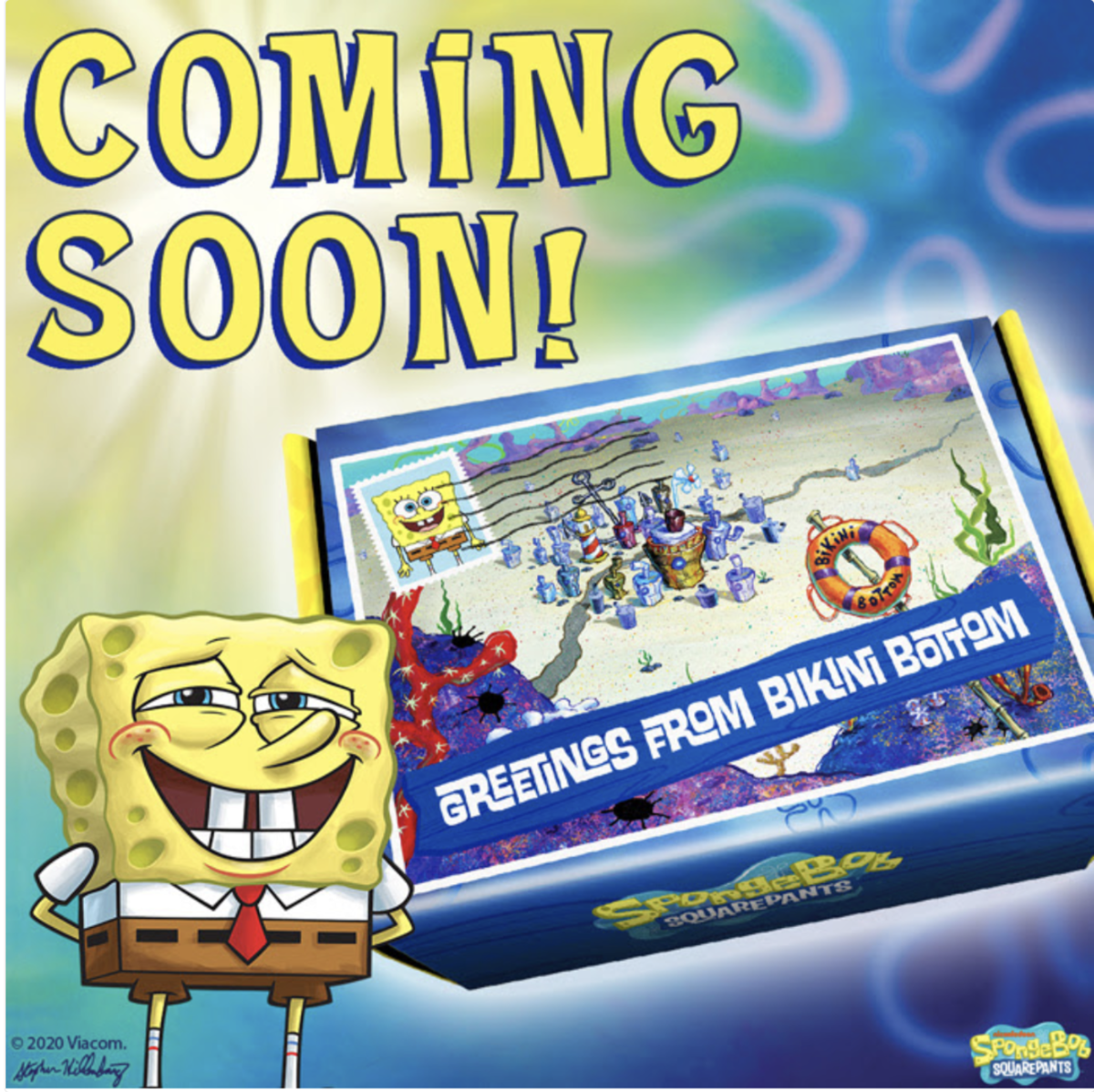 New Box Alert: SpongeBob Squarepants Bikini Bottom Box from CultureFly