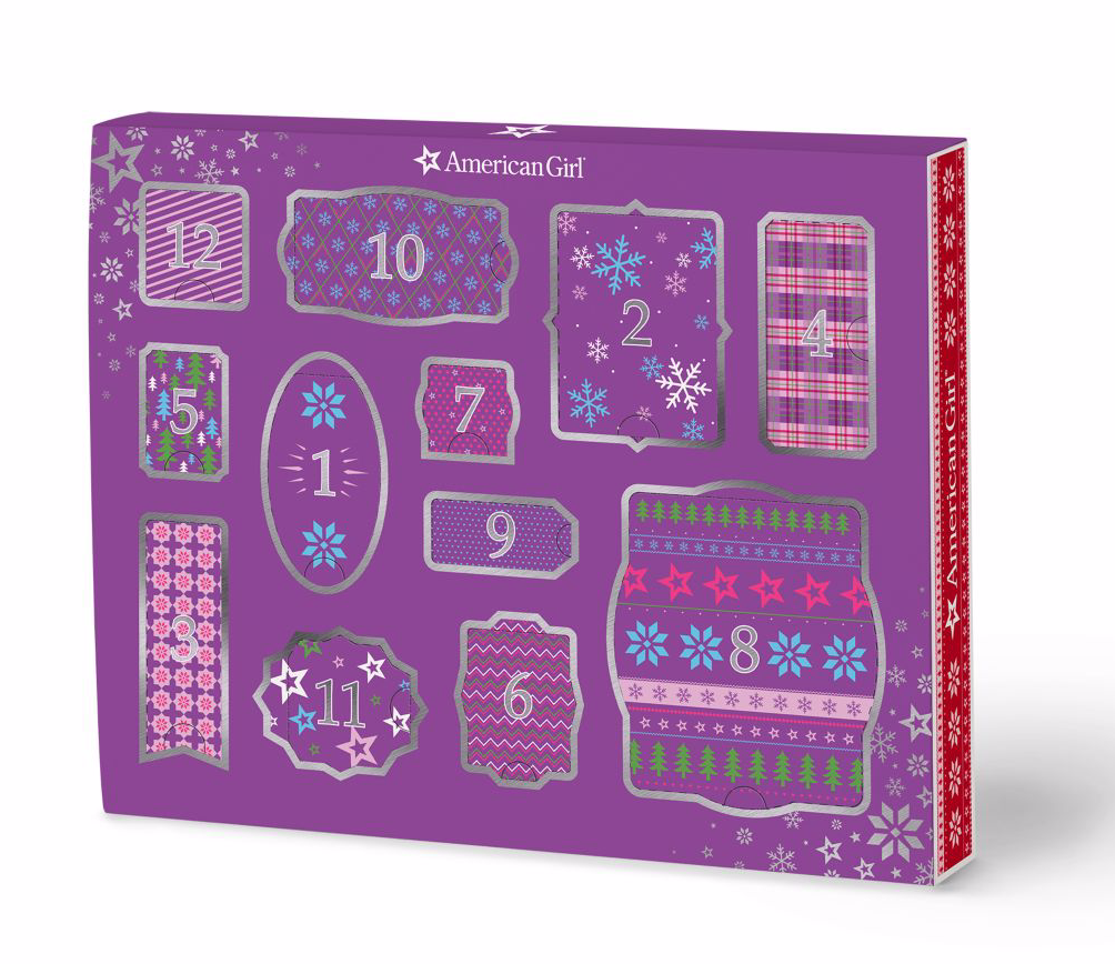 American Girl 12 Days of Cheer Countdown Set Advent Calendar – On Sale Now!
