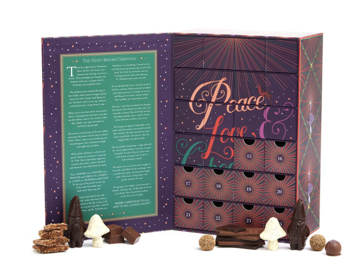 Vosges Haut – A Chocolate Calendar of Advent – On Sale Now!