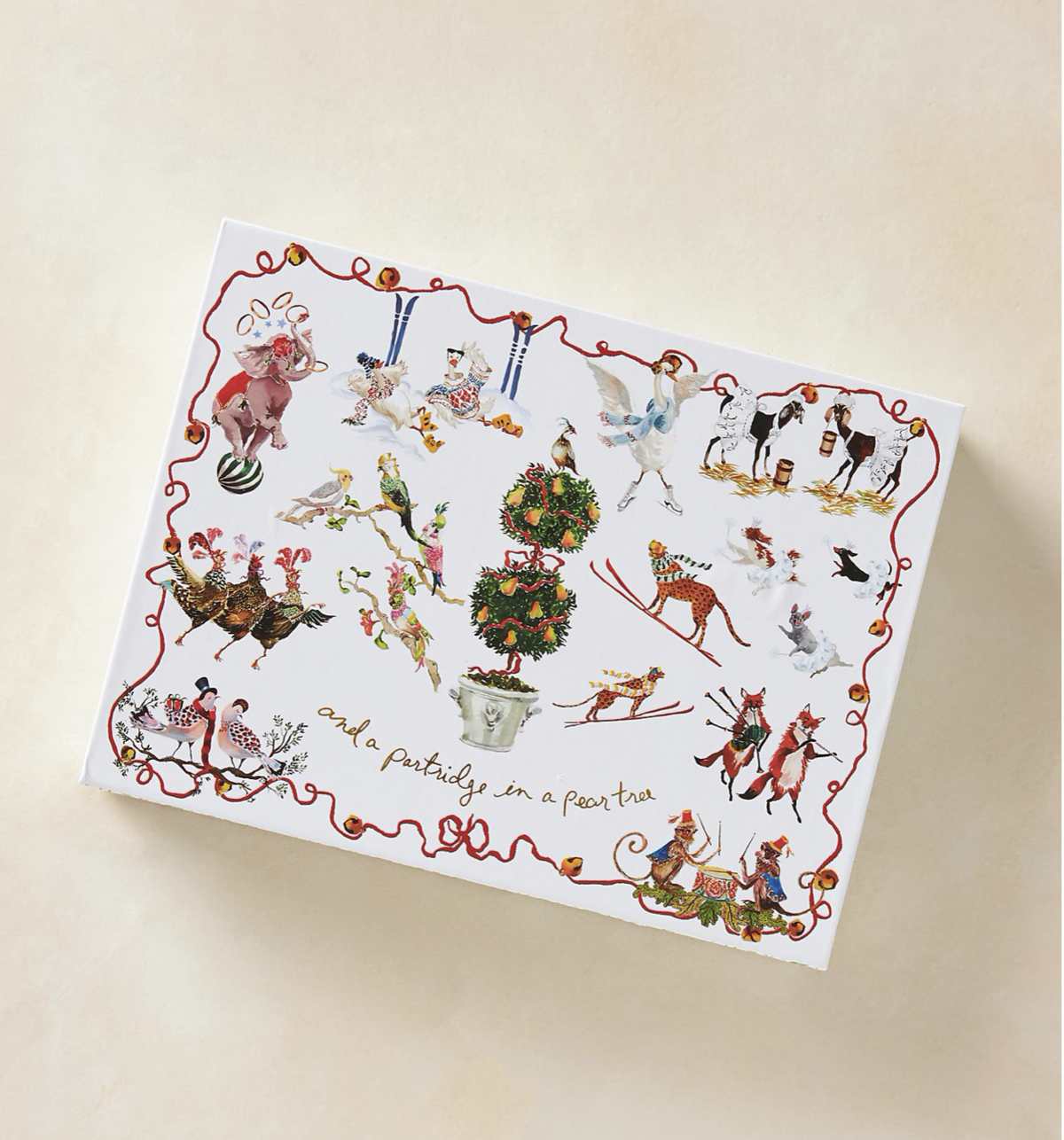 Inslee Fariss Twelve Days of Christmas Menagerie Candle Advent Calendar Gift Set – On Sale Now