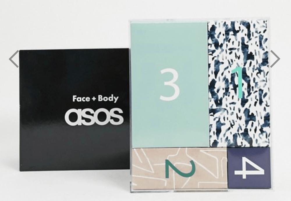 ASOS Grooming Advent Calendar – On Sale Now