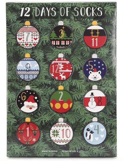 Muk Luks Socks Advent Calendar – On Sale Now