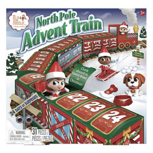 The Elf on the Shelf® North Pole Advent Train – On Sale Now!