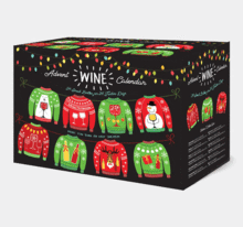 Sip and Savor Holiday Sweater Wine Advent Calendar – On Sale Now!