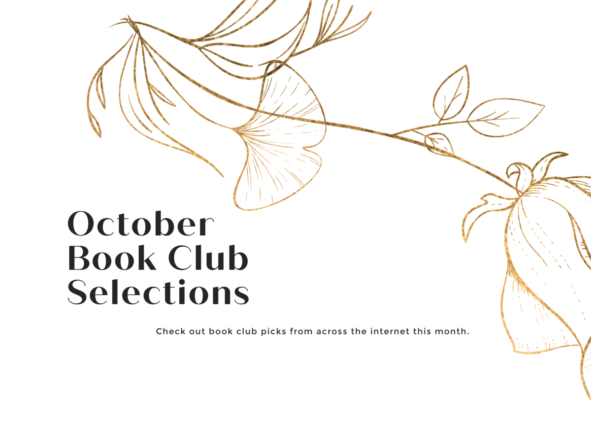 October 2020 Book Club Selections