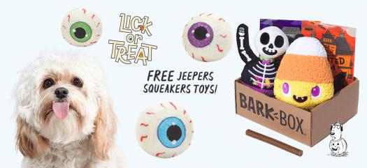 BarkBox Coupon Code – FREE Set of Tennis (Eye)Balls