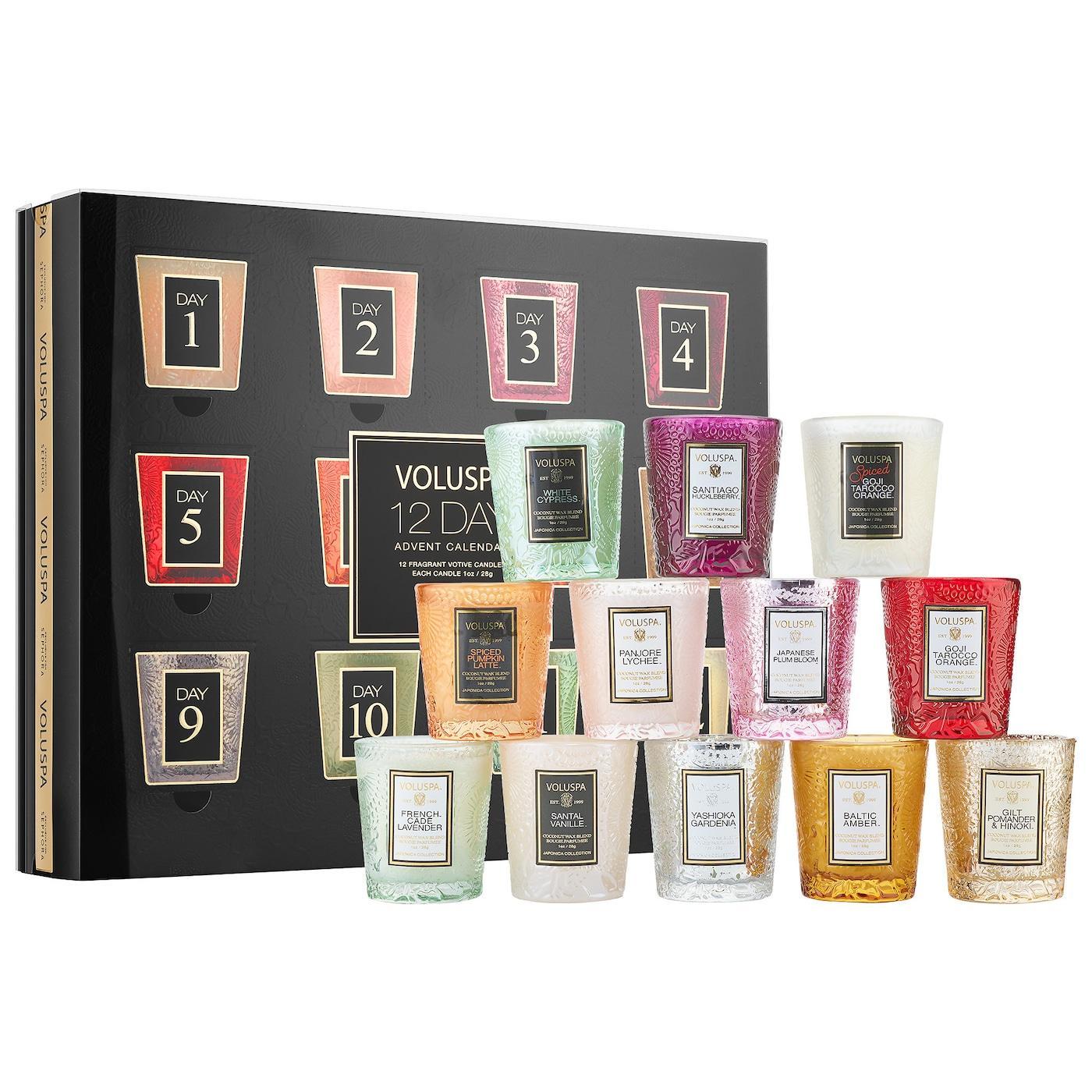 VOLUSPA Advent Calendar Mini Candle Set – On Sale Now