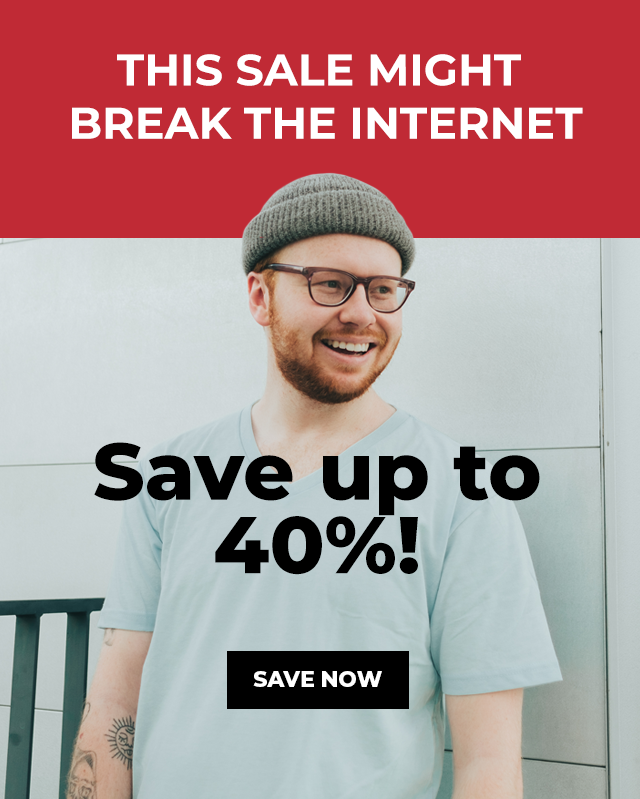 Fresh Clean Tees Cyber Monday Sale – Save Up To 40%!