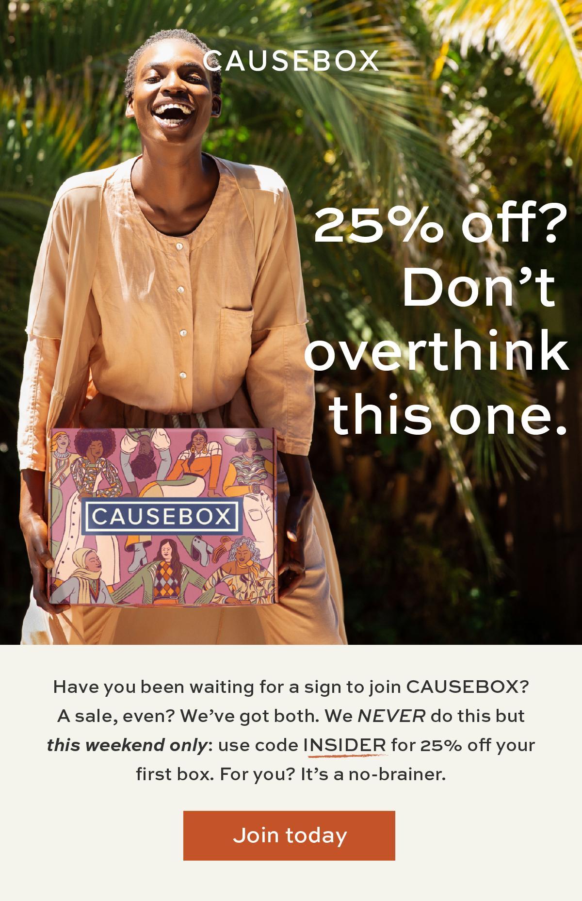 CAUSEBOX Fall 2020 Welcome Box Coupon Code – Save 25%!