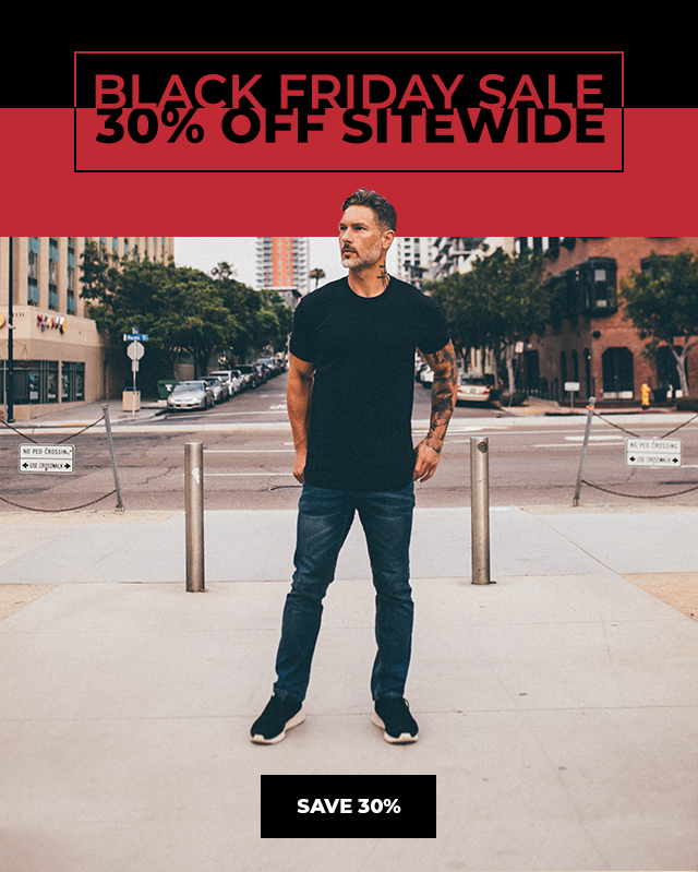 Fresh Clean Tees Black Friday Sale – Save 30%!