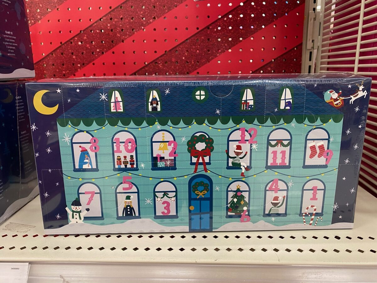 Target 12 Days of Crafts Kit – Wondershop Advent Calendar – On Sale Now!