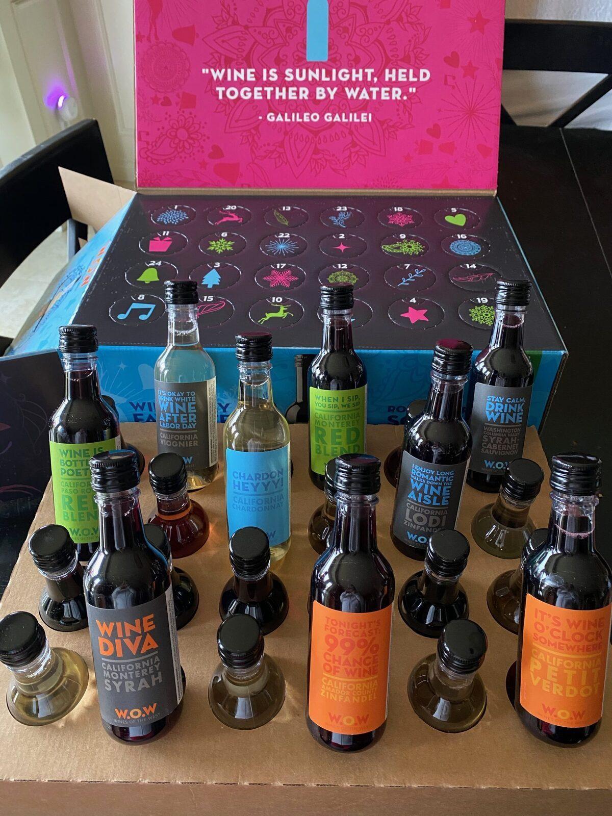 Target W.O.W Holiday Wine Advent Calendar – Mini Review