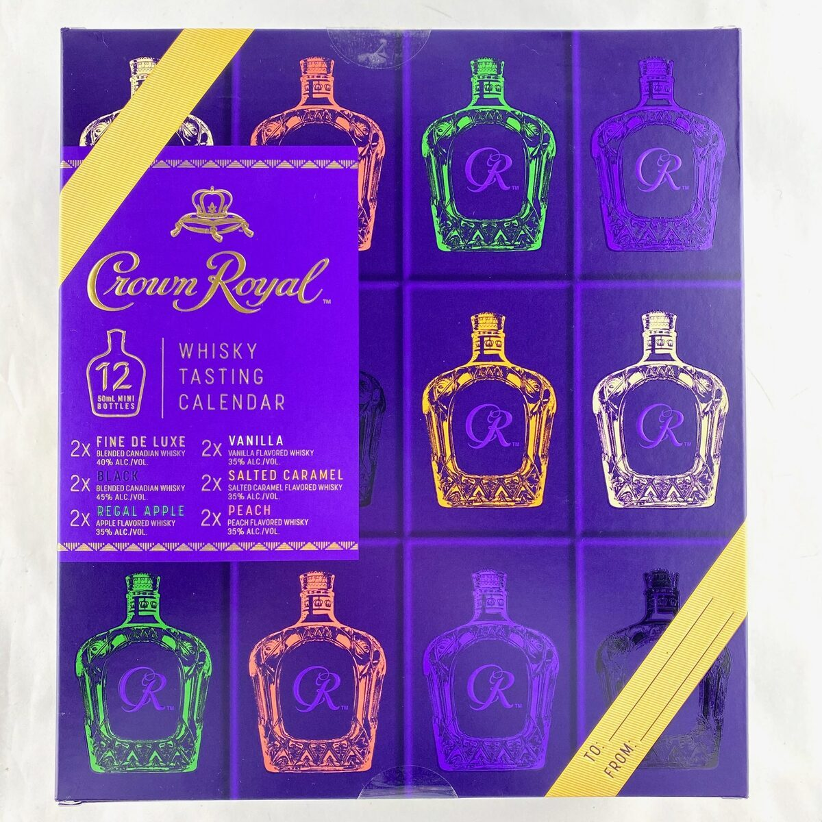 Crown Royal Whisky Tasting Advent Calendar – Mini Review